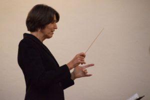 Nancy Holland Conducting